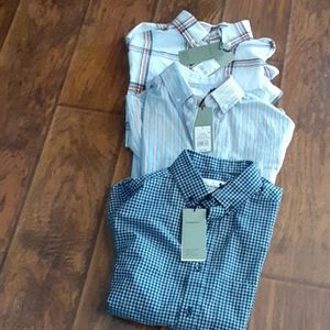 NWT Goodfellow &Co size small  dress shirt lot.